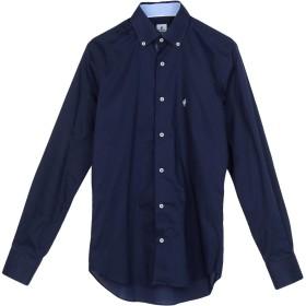 《期間限定 セール開催中》RODRIGO メンズ シャツ ダークブルー 37 コットン 100%