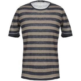 《期間限定セール開催中!》ROBERTO COLLINA メンズ T シャツ カーキ 52 麻 88% / ナイロン 12%