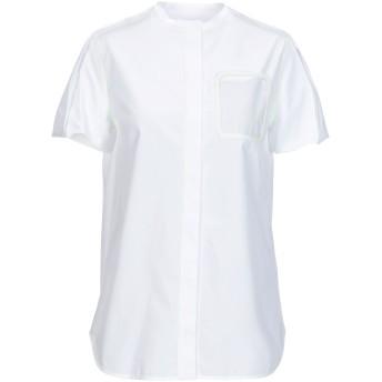 《9/20まで! 限定セール開催中》COURRGES レディース シャツ ホワイト 36 コットン 100%