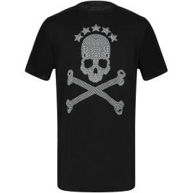 《9/20まで! 限定セール開催中》BAD SPIRIT メンズ T シャツ ブラック XS コットン 100%