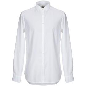 《期間限定 セール開催中》LIBERTY ROSE メンズ シャツ ホワイト 40 コットン 100%