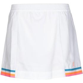 《期間限定 セール開催中》EA7 レディース ミニスカート ホワイト XS ポリエステル 100%