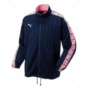 プーマ PUMA トレーニングジャケット ネイビー×ピンク 862216-76【ztzt】