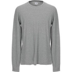 《期間限定セール開催中!》MAURO GRIFONI メンズ T シャツ グレー XL コットン 100%