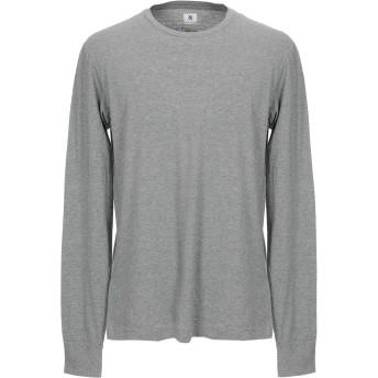 《セール開催中》MAURO GRIFONI メンズ T シャツ グレー XL コットン 100%