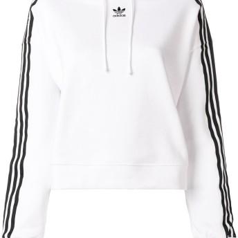 Adidas クロップド パーカー - ホワイト
