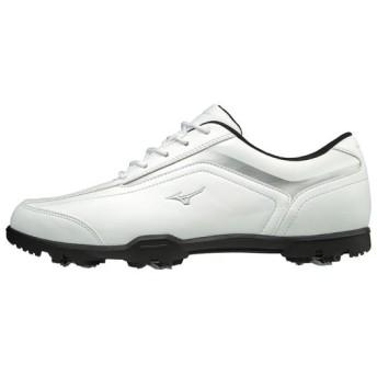 MIZUNO SHOP [ミズノ公式オンラインショップ] ティーゾイド(ゴルフ)[メンズ] 03 ホワイト×シルバー 51GQ1880