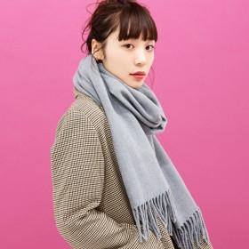 マフラー - WEGO【WOMEN】 カシミヤタッチストール BS17AW10-LG0001