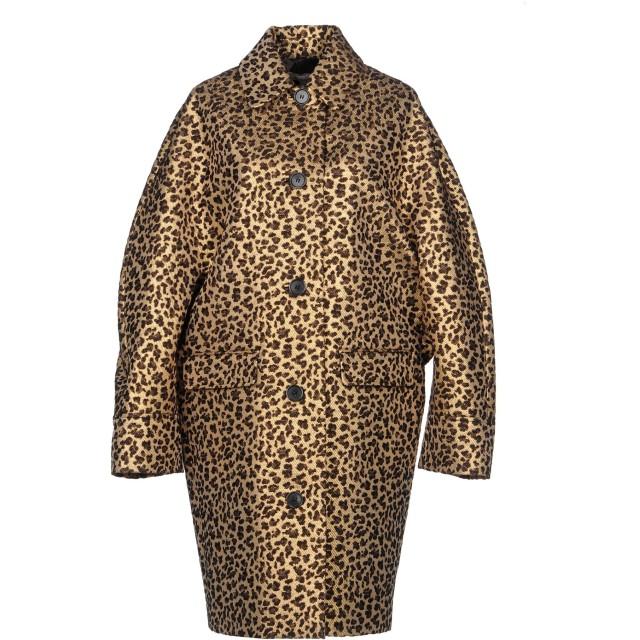 《セール開催中》MICHAEL KORS COLLECTION レディース ライトコート サンド 4 ウール 89% / シルク 6% / ナイロン 5%