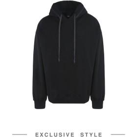 《セール開催中》DBYD x YOOX メンズ スウェットシャツ ブラック 46 コットン 100%