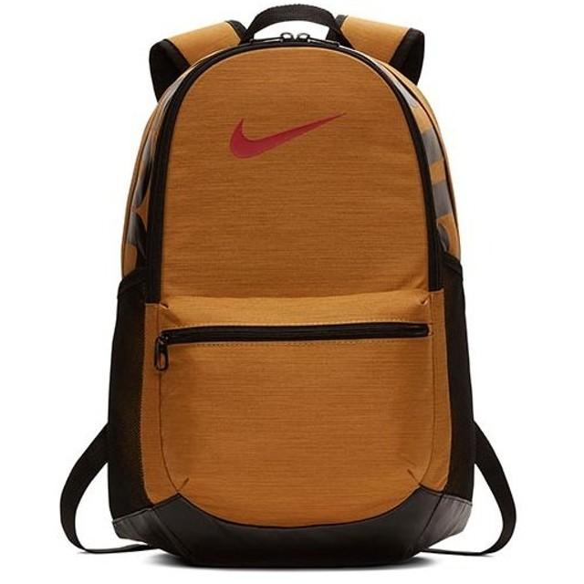 ナイキ(NIKE) ブラジリア バックパック Mサイズ ウィート/ブラック/ミスティックレッド BA5329 790 バッグ リュック かばん 鞄 カバン スポーツバッグ