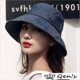 帽子レデイース春 夏収納 帽子折りたたみ可 20代30代40代 ナチュラルブリム日よけ大きいサイズ 飛ばない ジーンズ ハット女性用サンバイ
