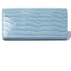 ランバンオンブルー(バッグ) マゼンダ フラップ長財布 レディース ライトブルー F 【LANVIN en Bleu(BAG)】