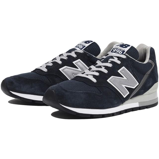 (NB公式)【ログイン購入で最大8%ポイント還元】 ユニセックス M996 NAV (ブルー) スニーカー シューズ(Made in USA/UK) 靴 ニューバランス newbalance