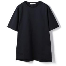 ESTNATION / クリスタルジャージー半袖Tシャツ ネイビー/SMALL(エストネーション)◆メンズ Tシャツ/カットソー