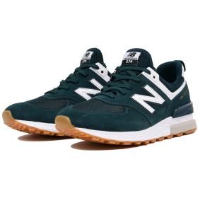 (NB公式)【ログイン購入で最大8%ポイント還元】 ユニセックス MS574 FCJ (グリーン) スニーカー シューズ 靴 ニューバランス newbalance