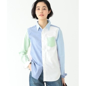 BEAMS BOY / ピンオックス クレイジー ボタンダウン シャツ レディース カジュアルシャツ CRAZY SOLID ONE SIZE