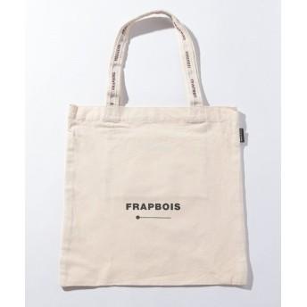 フラボア ロゴトート レディース オフホワイト F 【FRAPBOIS】