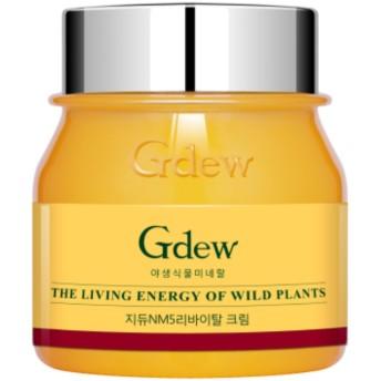 Gdew ジデューNM5リバイタルクリーム 敏感肌用 【無添加】 野生植物ミネラルたっぷり5%配合 トラブルケア エイジングケア 50g 【送料無料】
