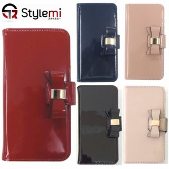 33ab8fd88d iPhone 8, 7ケース epice(エピス)エナメル製かわいいリボン付き手帳型 ...
