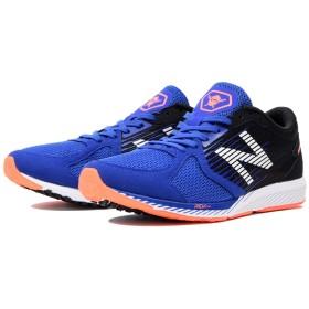(NB公式) ≪ログイン購入で最大8%ポイント還元≫ NB HANZO R M B2 (BLUE/ORANGE) ランニングシューズ/靴 男性/メンズ/mens ニューバランス newbalance