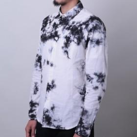一期一会 黒むら染めシャツ <知多木綿生地×名古屋黒紋付染>