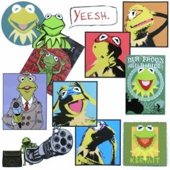 メール便/送料無料 カーミット ステッカー 11枚セット 約A4サイズ / Kermit the Frog セサミストリート 防水 シール