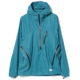 Pilgrim Surf+Supply / Brask Nylon Popover Anorak メンズ マウンテンパーカー TURQUOISE XS