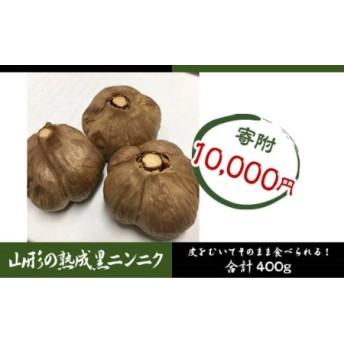 栄養満点! 山形の熟成黒ニンニク 400g (200g×2)