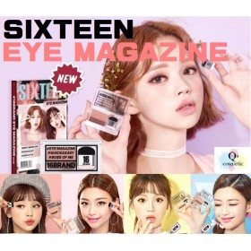 新色登場!【16BRAND】アイマガジン【SIXTEEN BRAND】 EYE MAGAZINE 全5色 #HELLO MONDAY#HEY MY DAY#EVERY DAY#SWEET SUND