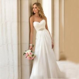 パーティー マーメイド  Aライン  ウェディング  ドレス 花嫁 結婚式ドレス 御姫様 トレーン長 高級ドレス オーダーメイド  hjj002