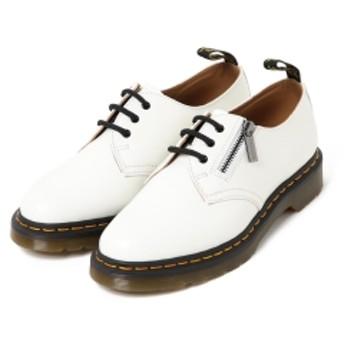 Dr. Martens × BEAMS / 別注 Slanting Zip 2Way 3Hole メンズ シューズ WHITE UK10