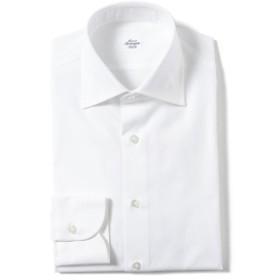 Maria Santangelo / 別注 ピンオックスフォード ワイドカラーシャツ メンズ ドレスシャツ WHITE/1 37