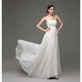 ウェディング ブライダル パーティー 花レース  花嫁 結婚式 ドレス マーメイド Aライン ロング 高級エレガント  オーダーメイドドレス
