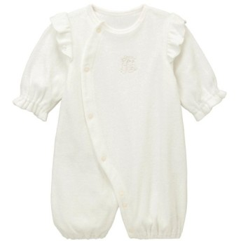 ベビー服 ツーウェイドレス GITA(ジータ) 無撚糸ツーウェイミニオール 「ホワイト」