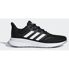 adidas(アディダス)ランニング レディースジョギングシューズ FALCONRUN W DBG98 F36218 レディース コアブラック/フットウェアホワイト/グレースリー