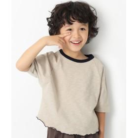 ANAP(アナップ)ワイドショート丈スラブTシャツ