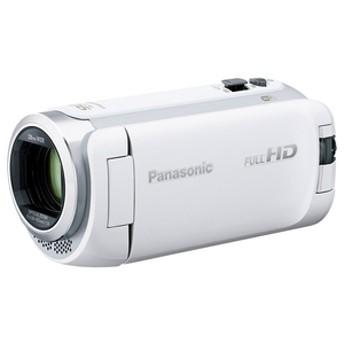 パナソニック64GB内蔵メモリー デジタルハイビジョンビデオカメラホワイトHC-W590M-W
