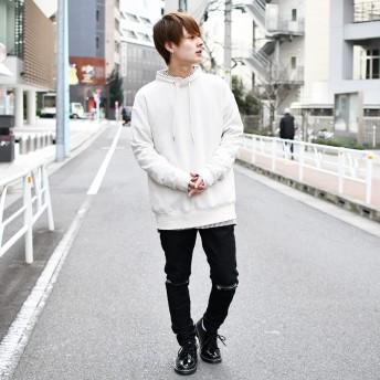 スウェット・ジャージ - kutir 【kutir】スタンドカラー裏毛トップス