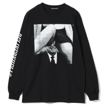 F-LAGSTUF-F / -Delivery Hells- Inside Long Sleeve Tee メンズ Tシャツ BLACK L