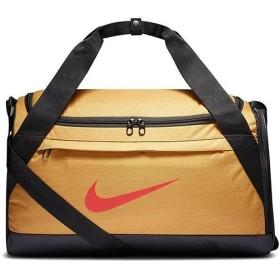 ナイキ(NIKE) バッグ ブラジリア ダッフル Sサイズ ウィート/ブラック/ミスティックレッド BA5976 790 スポーツバッグ ボストンバッグ かばん カバン 鞄 部活