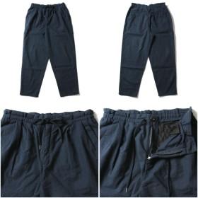 パンツ・ズボン全般 - SPUTNICKS 【アイテム】日本製 リネンキャンバスアンクルワイドパンツ【ブランド】Upscape Audience(アップスケープオーディエンス)