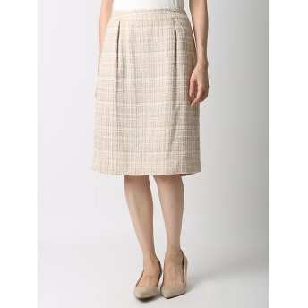 CLEAR IMPRESSION / クリアインプレッション ツイードタイトスカート《セットアップ対応》