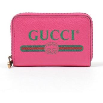 GUCCI グッチ 496319 0GCAT レザー カードケース コインケース ミニ財布 8840 レディ