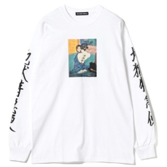 F-LAGSTUF-F / -Delivery Hells- 地獄特急便 Long Sleeve Tee メンズ Tシャツ WHITE M
