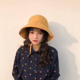 2019春 帽子 レディース つば広帽子 キャップ ハット サイズ調節 オシャレ 小顔効果抜群 かわいい バケットハット 大きいサイズ
