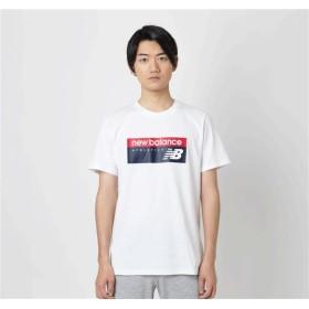 (NB公式) 【40%OFF】 ≪ログイン購入で最大8%ポイント還元≫ 【SALE】NBアスレチックバナーTシャツ (WT ホワイト) 男性/メンズ/mens ニューバランス newbalance セール