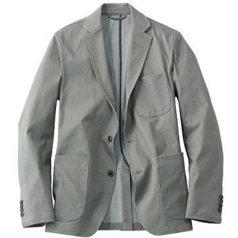 【メンズ】 全方向ストレッチ素材のテーラードジャケット(ワンダーシェイプ®) ■カラー:グレー系 ■サイズ:M,L,LL,3L,5L