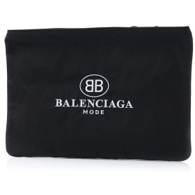 バレンシアガ BALENCIAGA クラッチバッグ EXPLORER POUCH エクスプローラー ポーチ ブラック メンズ 535334-9d0m5-1060