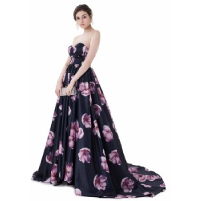 a4c4da668e902 ウェディング パーティー 二次会 花嫁 結婚式 ドレス Aライン プリンセスライン ロングトレーン カラー ドレス オーダー